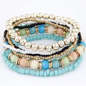 Beautiful Layered Bracelet Set